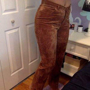 JONES NEW YORK - leather pants